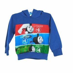 Thomas the train 3T toddler hoodie pullover blue